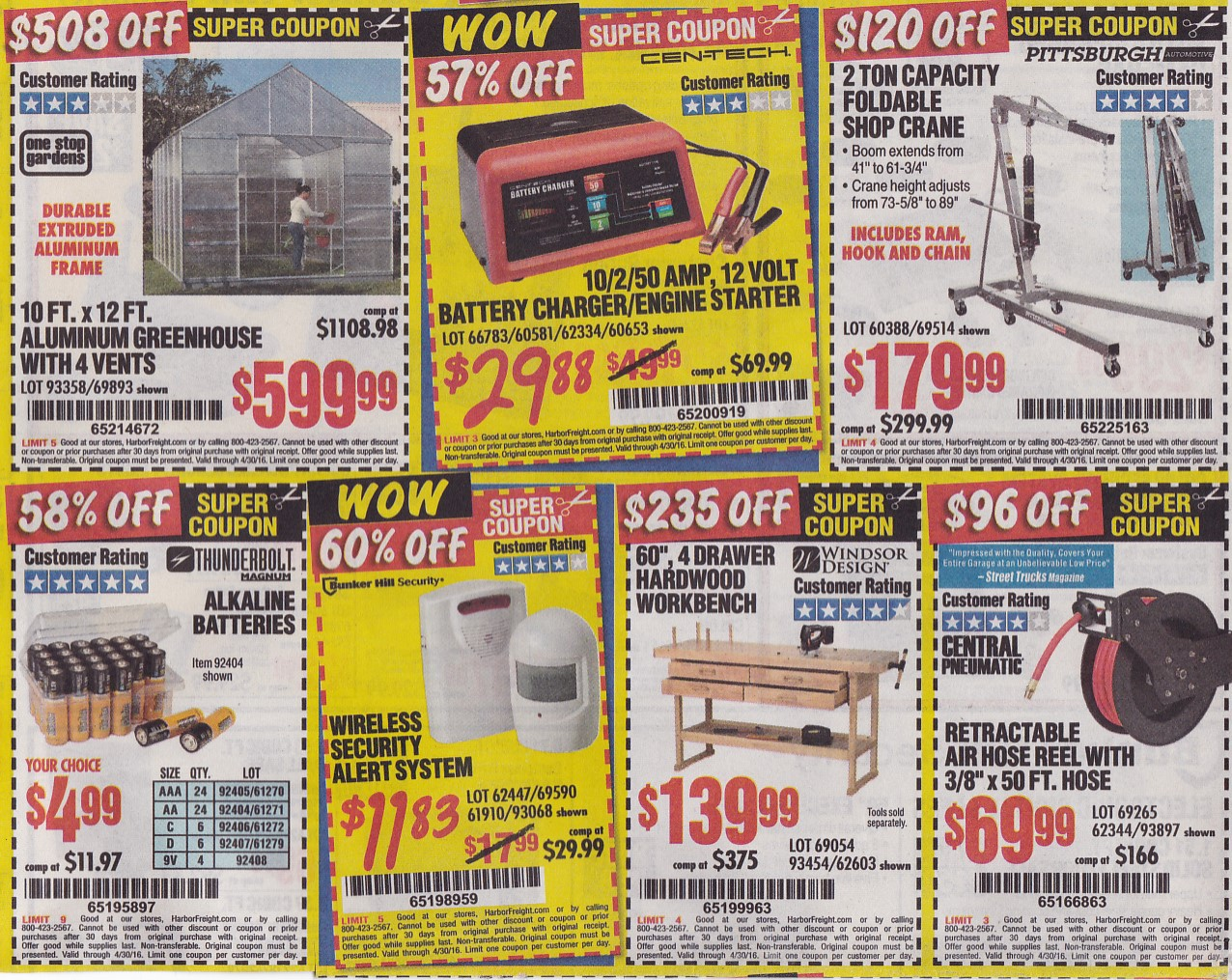 Harbor freight tools 20 off coupon code