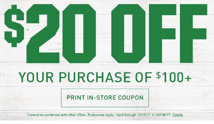 Fleet Farm Coupons >> STAY ACTIVE WITH $20 OFF $100+ AT DICK'S SPORTING GOODS ...
