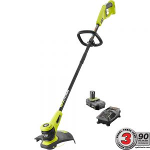Fleet Farm Coupons >> Home Depot: Ryobi 18-Volt Lithium-Ion Electric Cordless String Trimmer 2.0 Ah Battery and ...