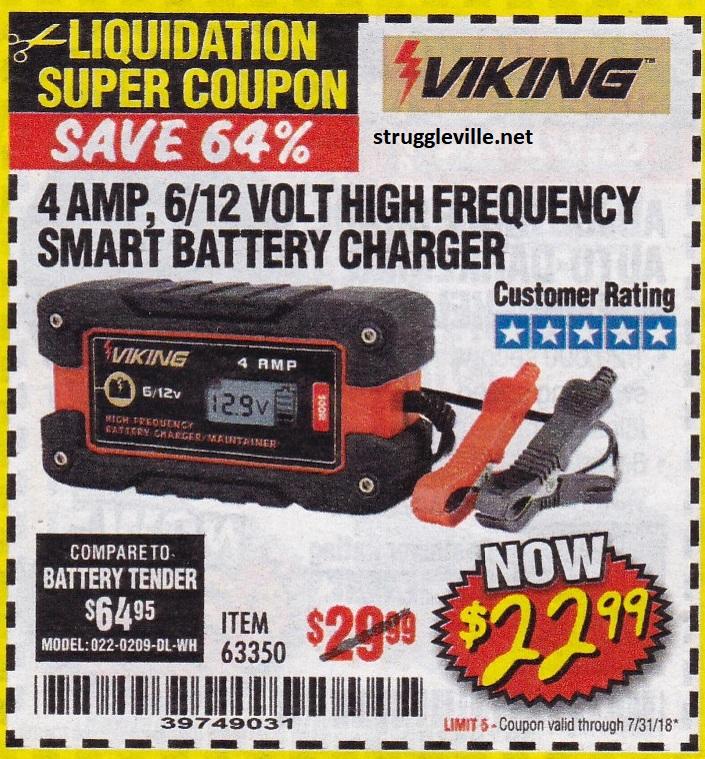 022-0209-DL-WH BATTERY TENDER BATTERY TENDER 4 AMP 6//12 VOLT